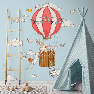 balon na tapecie