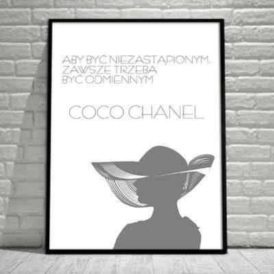 Chanel na plakacie