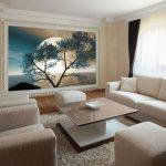tapeta z turkusowym drzewem