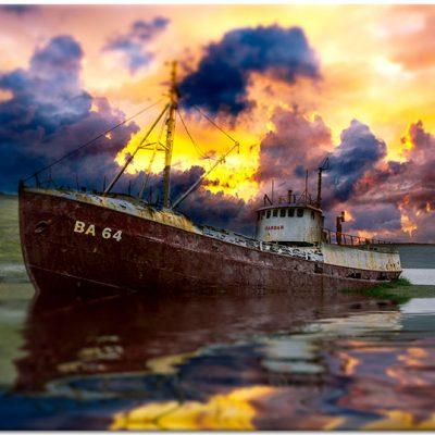 Obraz Z Widokiem Na Statek