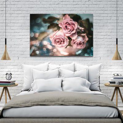 obraz do sypialni z różami