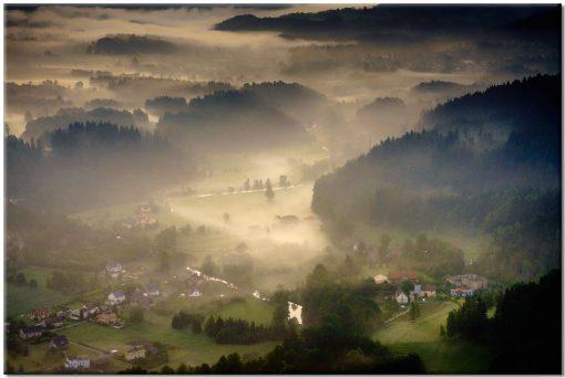 dolna z mgłą jako obraz