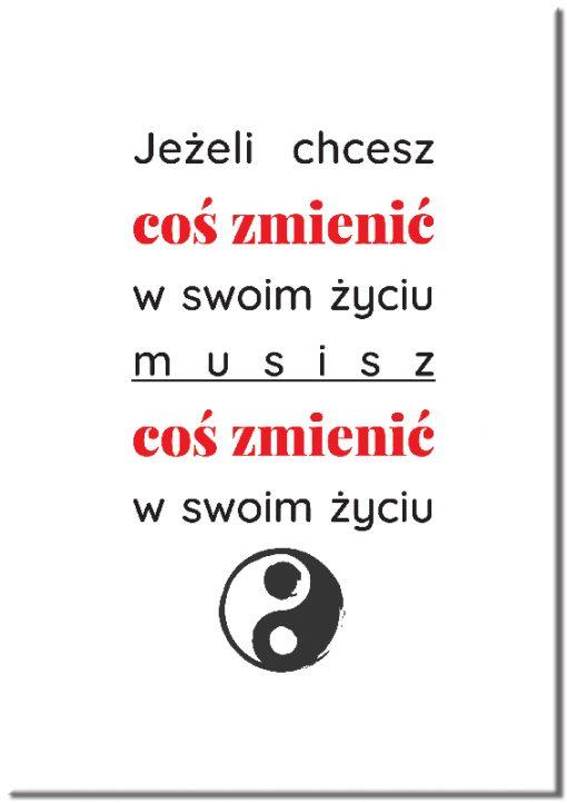 plakaty z sentencjami