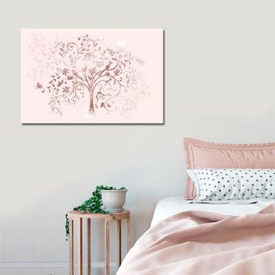 obraz z drzewem