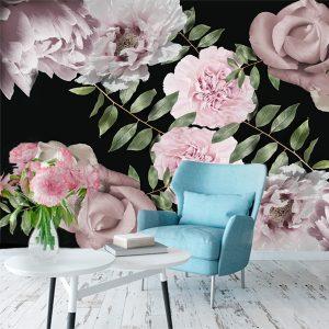 Fototapety różowe i fioletowe