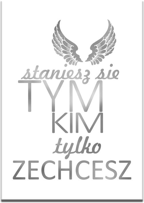 plakaty srebrne