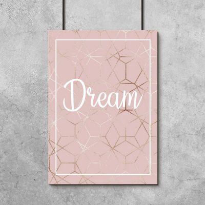 plakaty z marzeniami