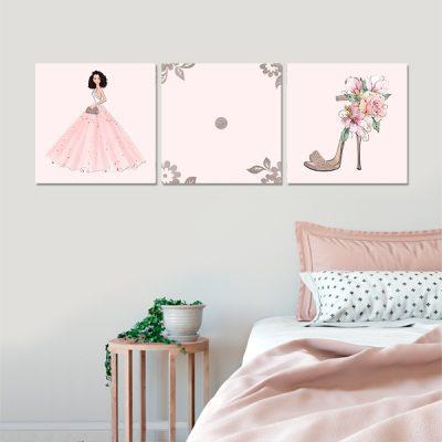tryptyk plakat do sypialni