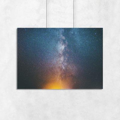 Dekoracja ścienna galaxy
