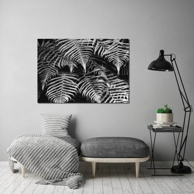 dekoracja w kolorach czerni i bieli
