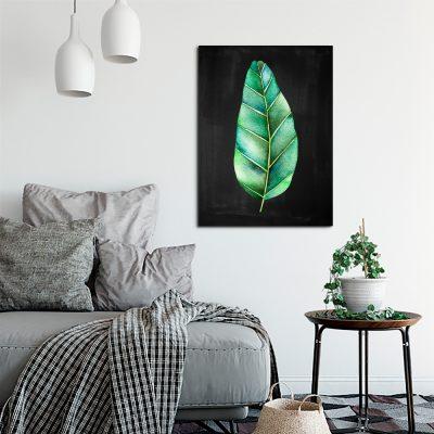 ozdoba z motywem roślinnym