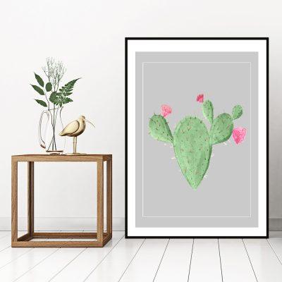 ozdoba z kaktusem