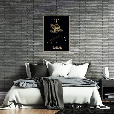 plakat ze znakiem zodiaku