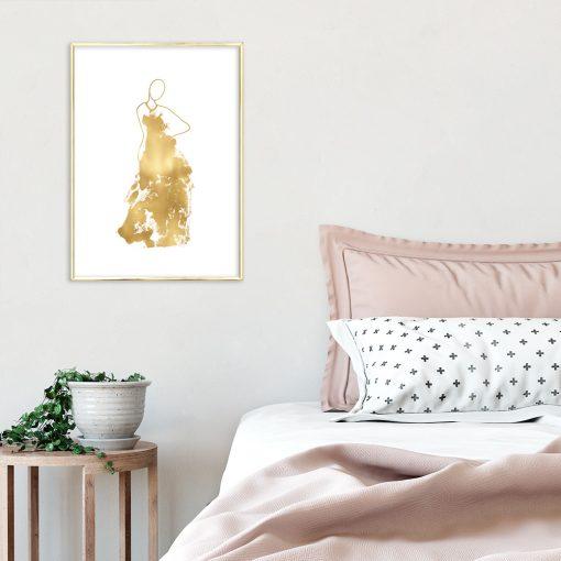 dekoracje złote