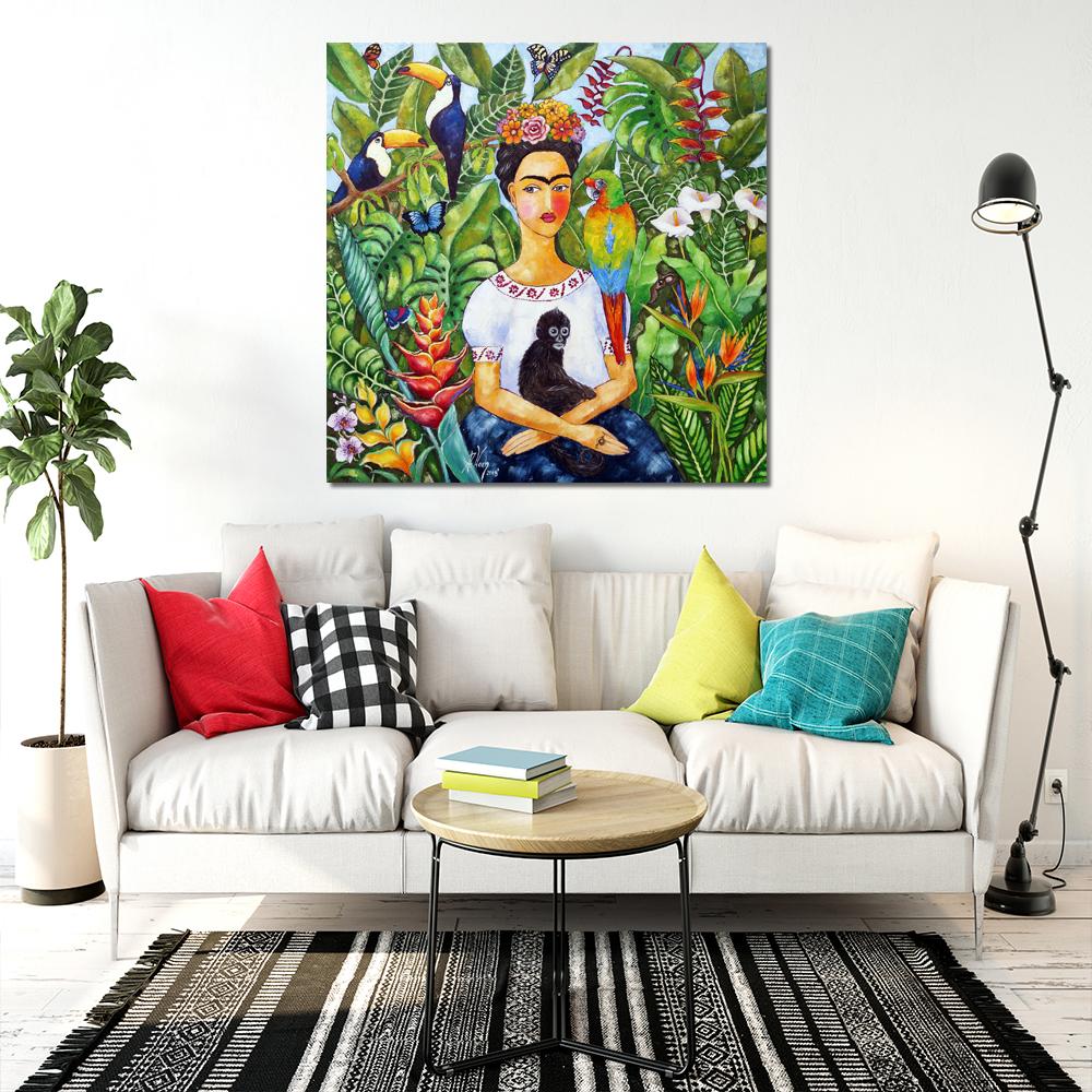 Reprodukcja Malarstwa Z Portretem Fridy Kahlo