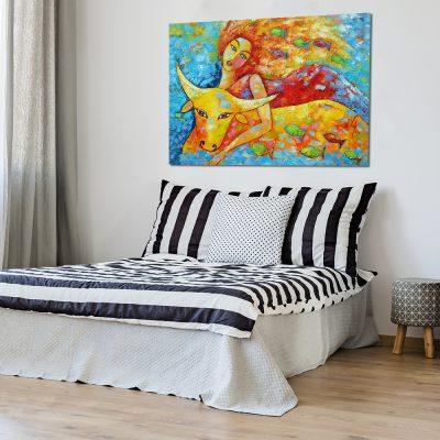 obraz bajkowy do sypialni