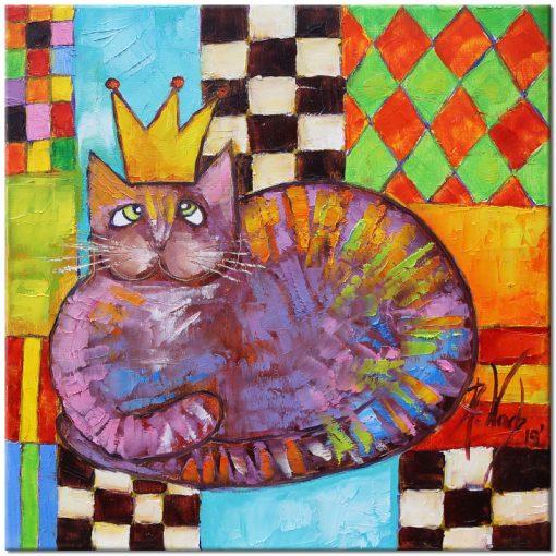 obraz król kanapowy