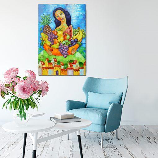 obraz jak malowany