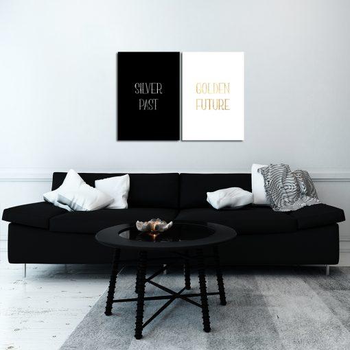 plakat golden future