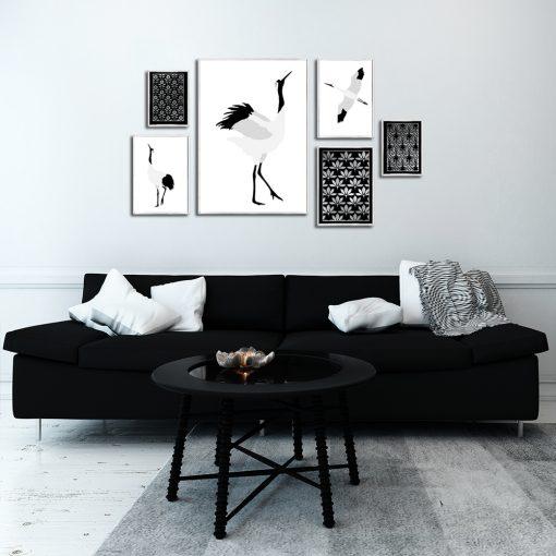 plakaty z ptakami