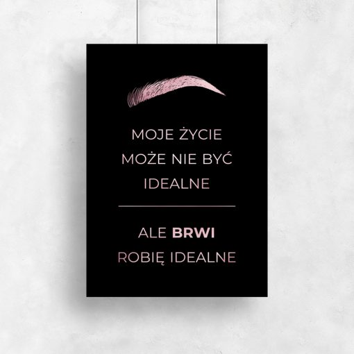 plakat dla kosmetyczki