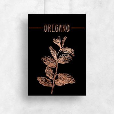 plakaty z serii ziołowej