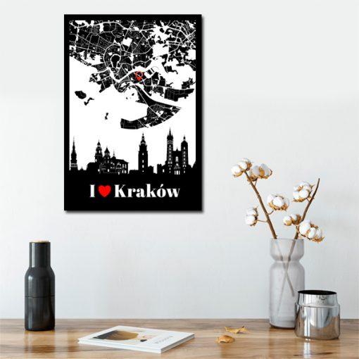 motyw Krakowa na plakacie