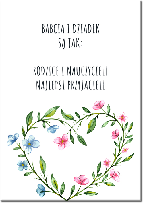 plakaty dla dziadków