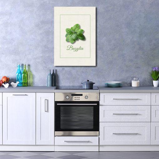 dekoracja kuchenna jako plakat