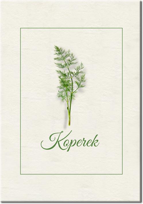 zielono-kremowy plakat
