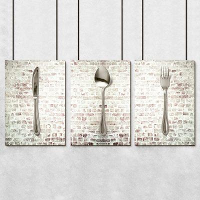 Plakat w kolorze sepii do kuchni
