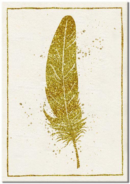 dekoracja złota jako plakat