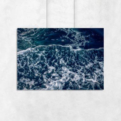 poziomy plakat z motywem morza