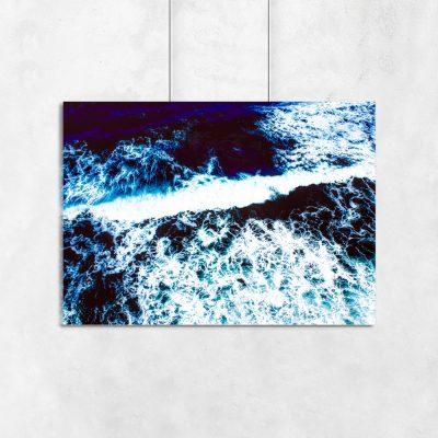 ocean na plakacie