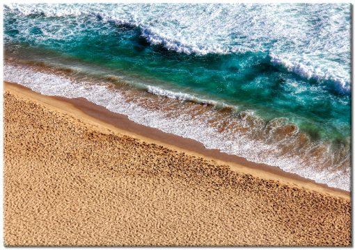plaża i woda w sypialni