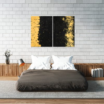 Obraz dyptyk do dekoracji sypialni
