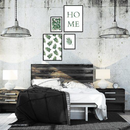 Plakaty w zestawie do dekoracji sypialni