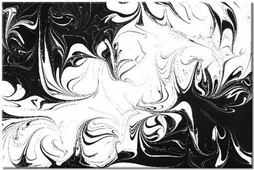 Czarno-biały obraz do dekoracji salonu