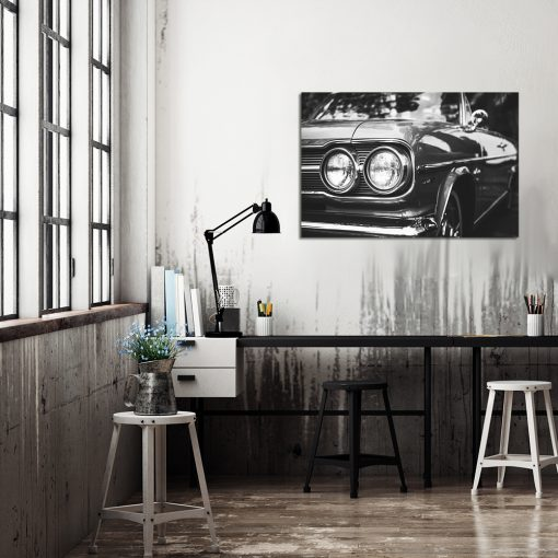 Obraz z samochodem do biura