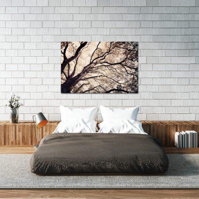 Obraz w sepii do sypialni