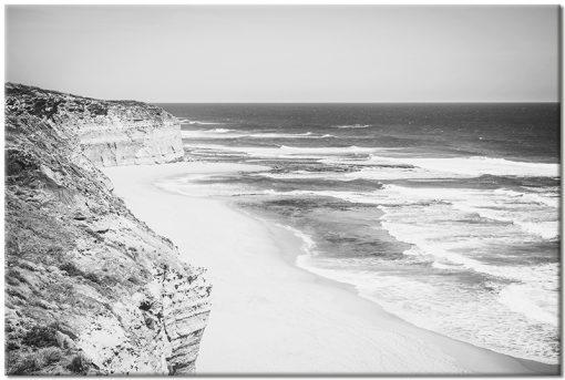 Obraz z motywem brzegu morza