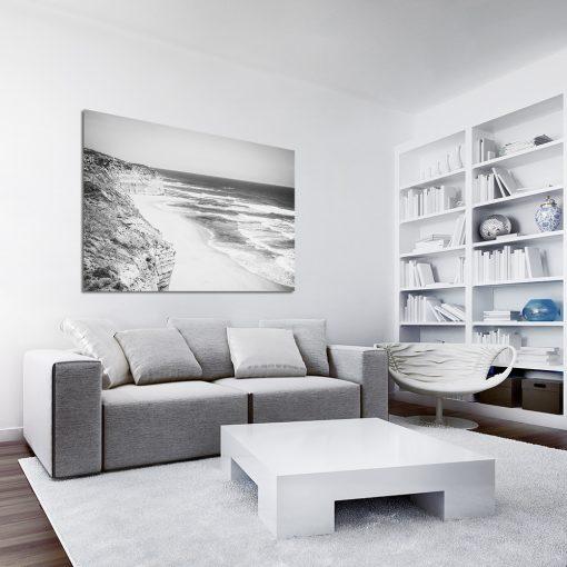 Czarno-biały obraz do sypialni