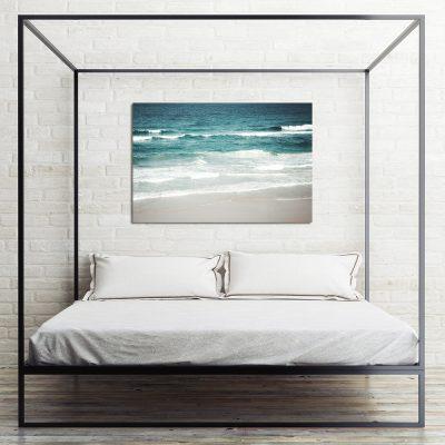 Obraz z brzegiem morza do sypialni