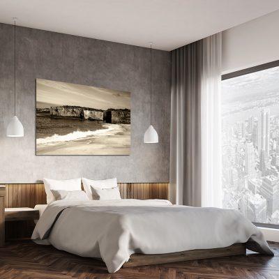 Obraz z morzem do dekoracji sypialni