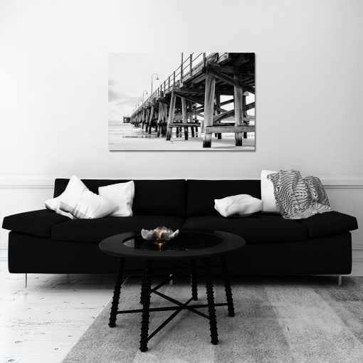 Obraz z motywem molo do salonu
