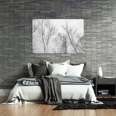 Obraz czarno-biały do sypialni
