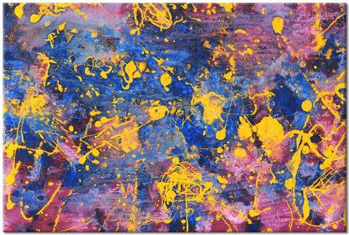 kolorowy obraz do ozdoby salonu