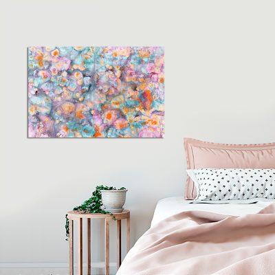Obraz z motywem abstrakcji do sypialni