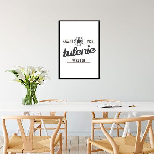 Plakat do ozdoby kuchni