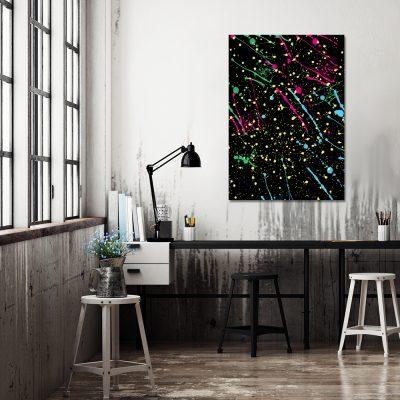 Plakat abstrakcyjny do biura